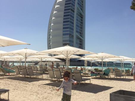 Exploring Dubai with kids