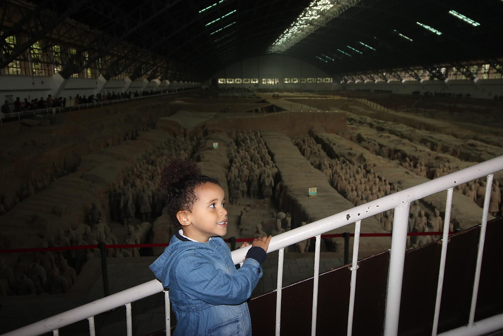 Xi'an, at Terracotta Army-Warriors site