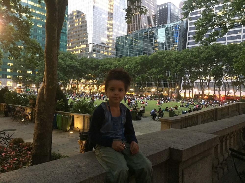 Fun Afternoon at Bryant Park