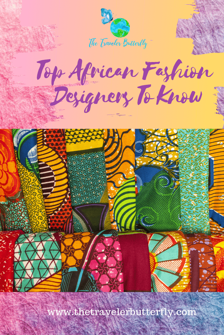 Top African Fashion Designers to know