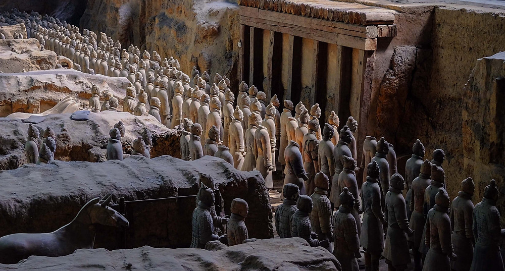 Terracotta Army-Warriors site