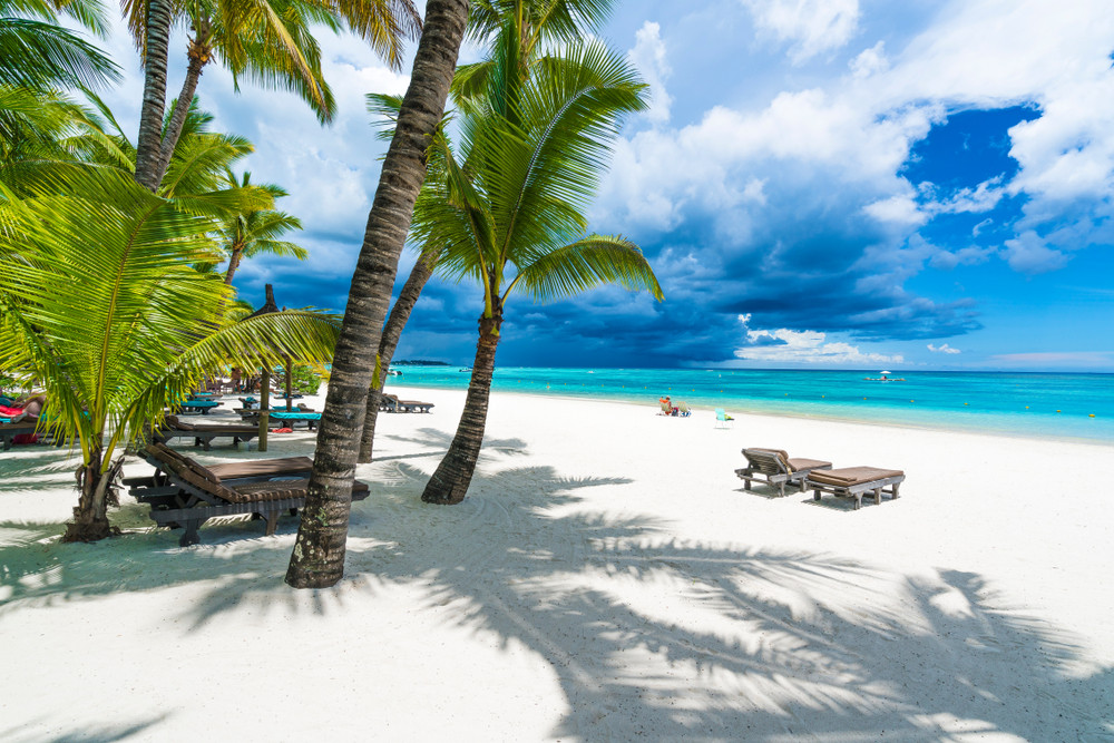 Trou aux biches, Mauritius island ( île Maurice), East Africa