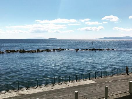 海の絶景スポット。宿から徒歩7分です。