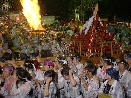 5月26日(土)湯かけ祭り。体験プランあります。