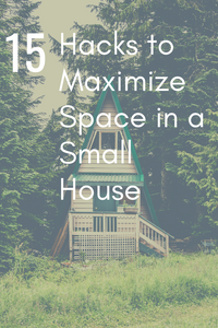How to maximize space in a small house | tiny house hacks