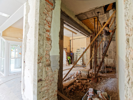 Fixing up a Fixer-Upper: Bringing to Life a New Home on an Old Foundation.
