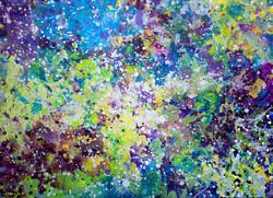 Life Celebrating Life, painting