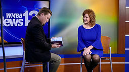 Korrine Holt on Great Day Tampa Bay with Michael Clayton