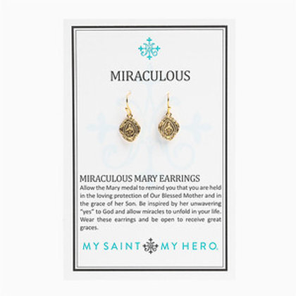 Miarculous Mary Earrings