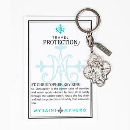 St Christopher Key Ring