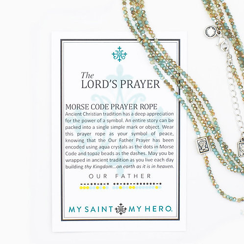 The Lord's Prayer Morse Code Prayer Roper
