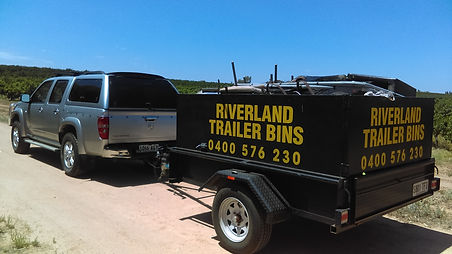 3.0 cubic mtr trailer filled & car.jpg