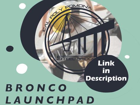 Bronco Launchpad