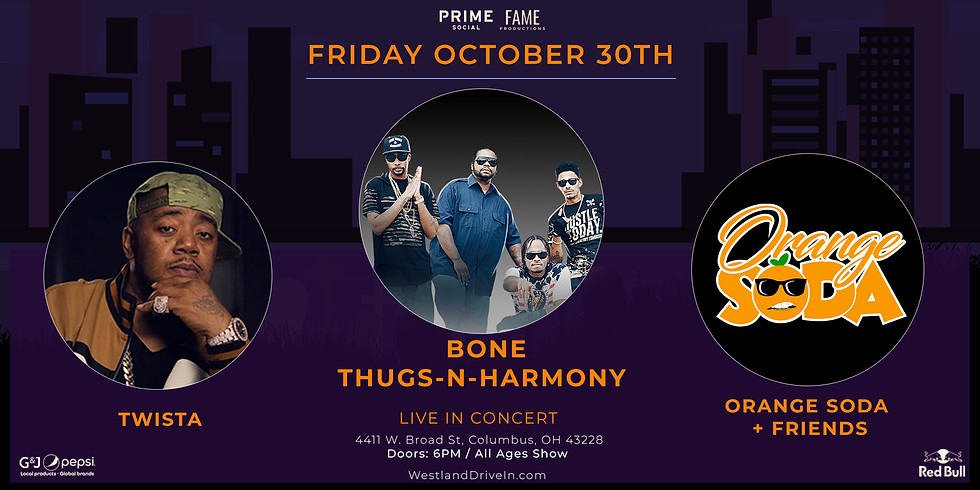 Bone Thugs-N-Harmony & Twista - Columbus, OH (Drive-In Show)