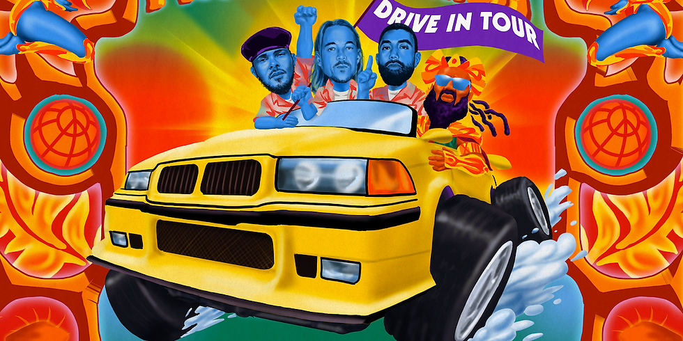 Major Lazer - Columbus, OH (Drive-In Show)