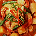 28.Nyonya Assam Prawns/Squid 🌶️