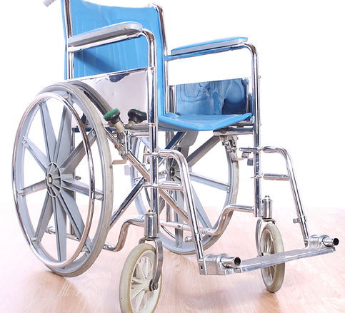 sillas de ruedas blue
