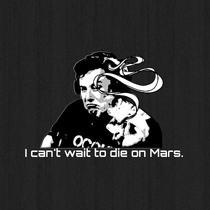 Die on Mars T-Shirt