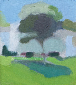 Green Tree_oil on canvas_6.25x5.5_2016