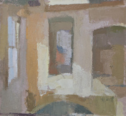 Atrium in Winter Study