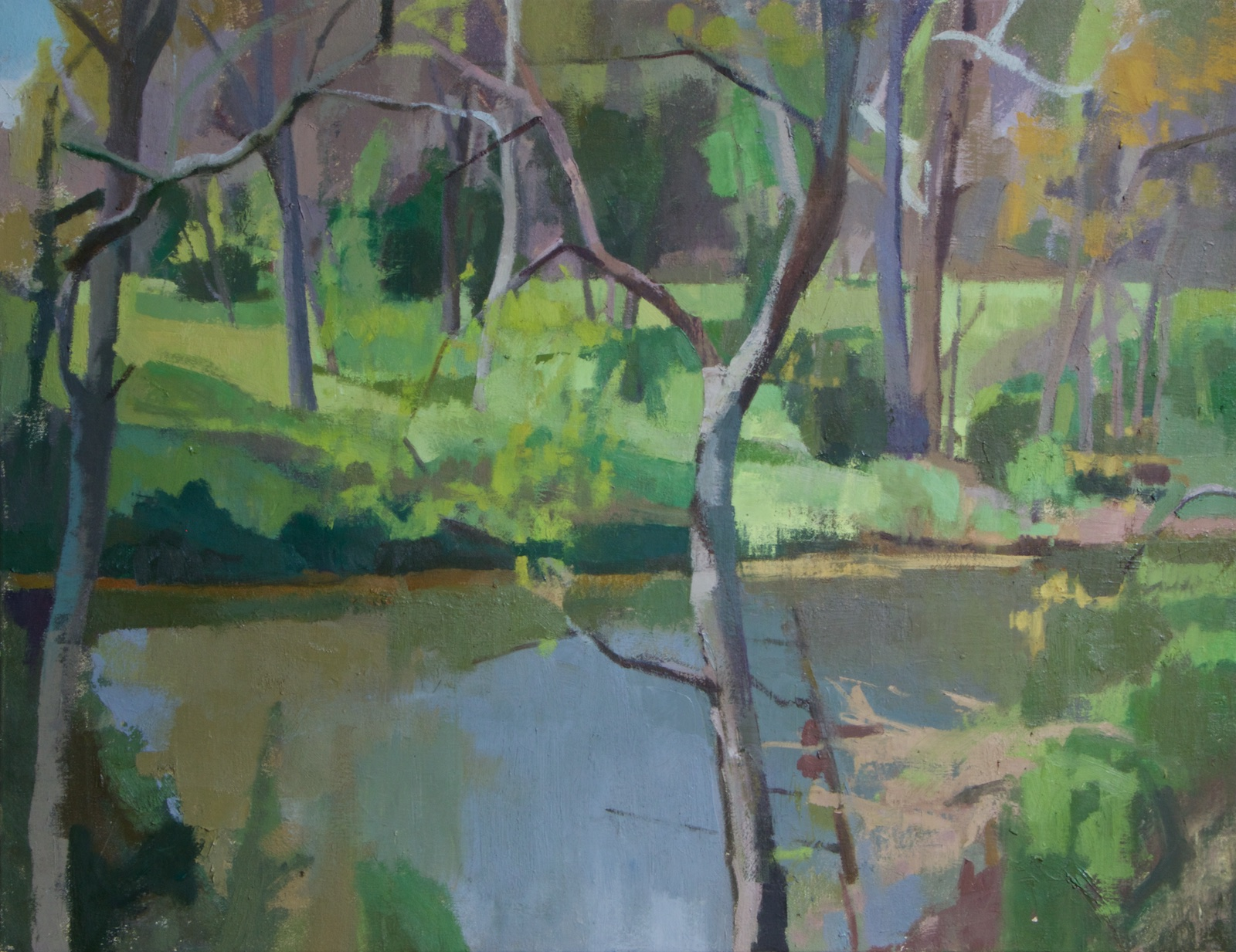 Lodge Creek_oil on canvas_23.5x30.25_20.