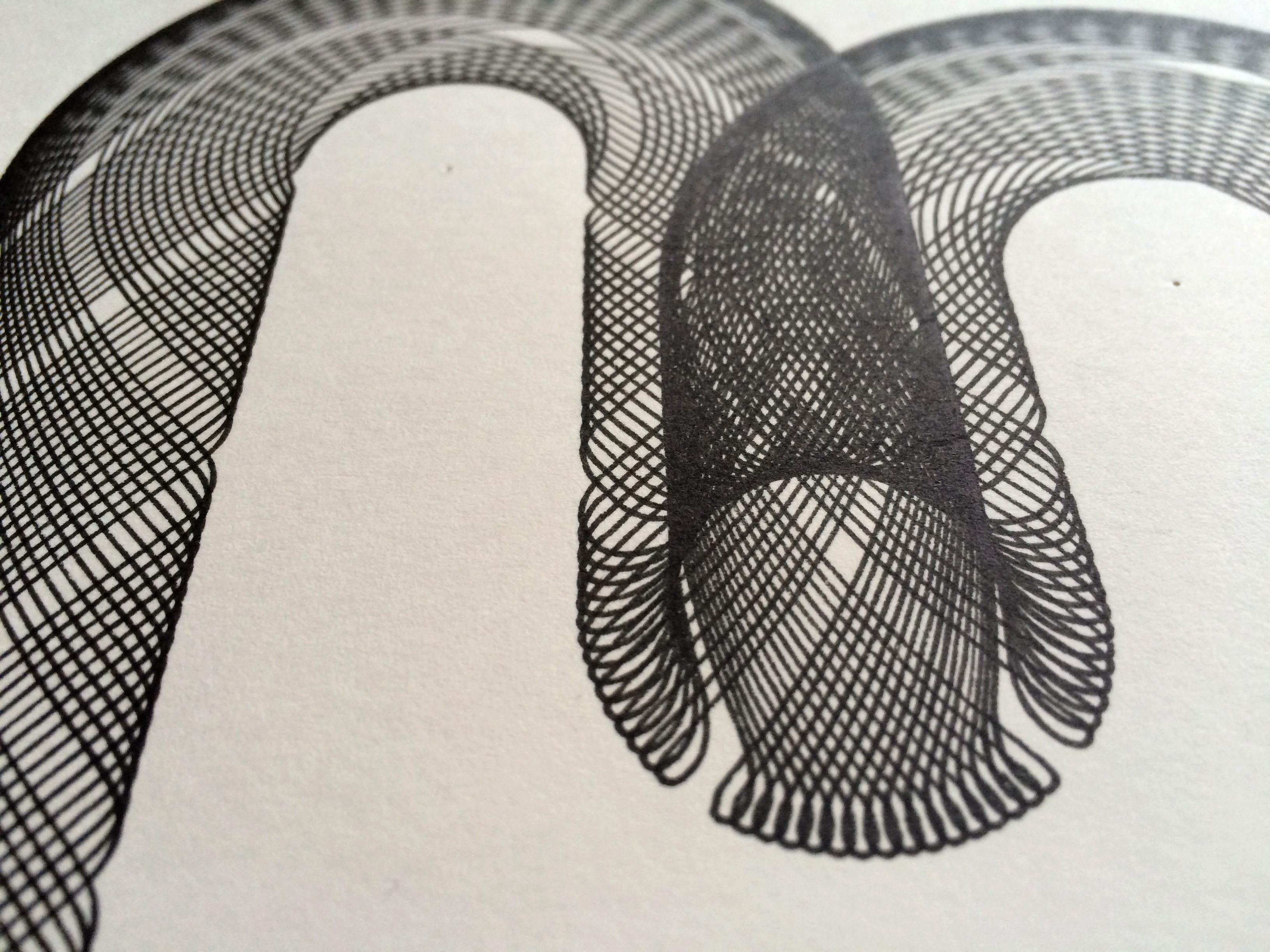 LEONIE STAMAN_detail spirograaf letter