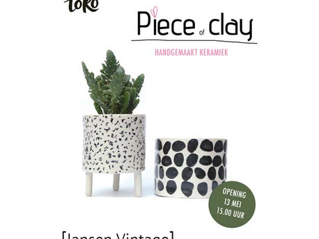 Nieuwe expo: Piece of Clay