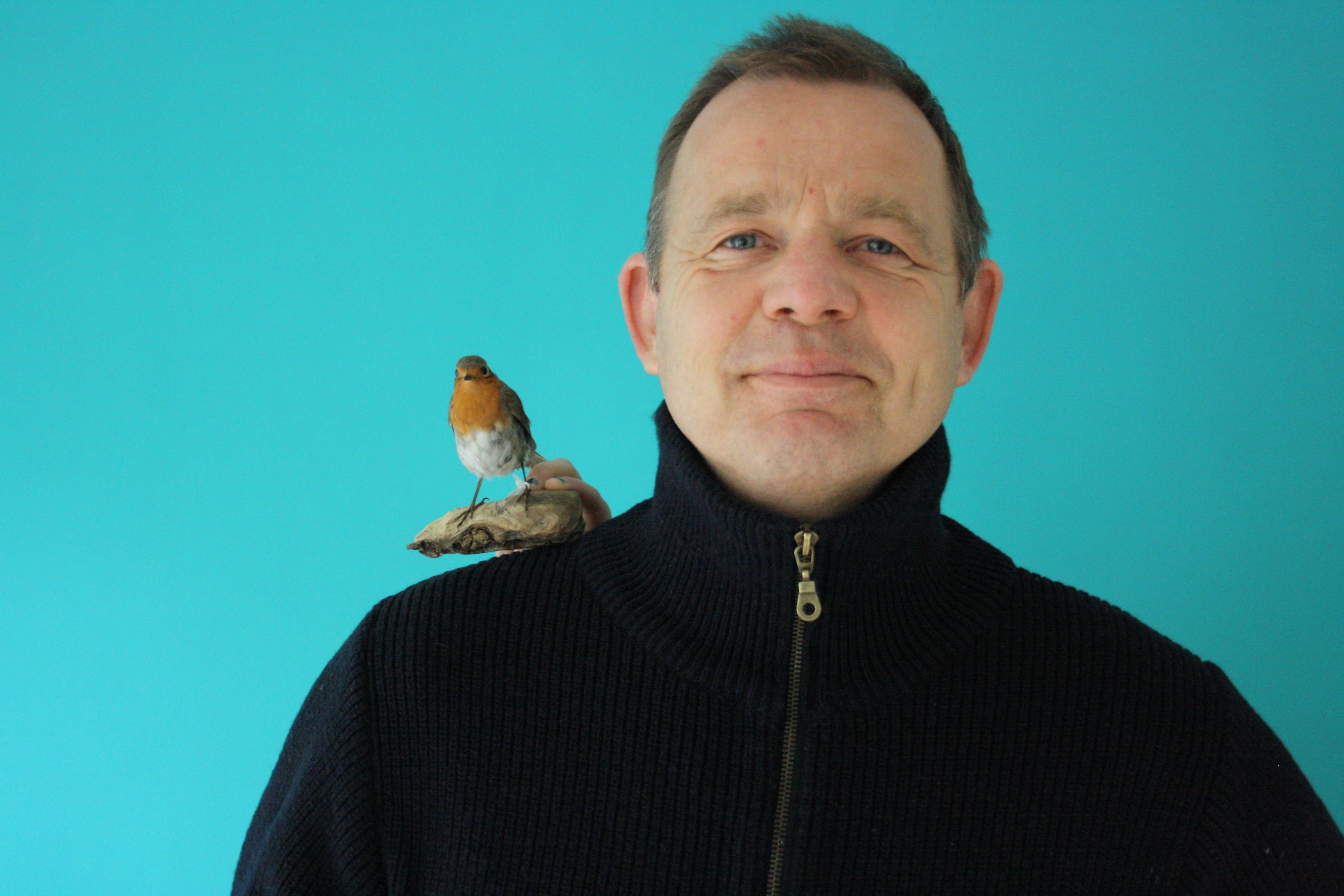 selfie Marc van der Zwet