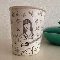 VALESCA VAN WAVEREN guitar girl mok