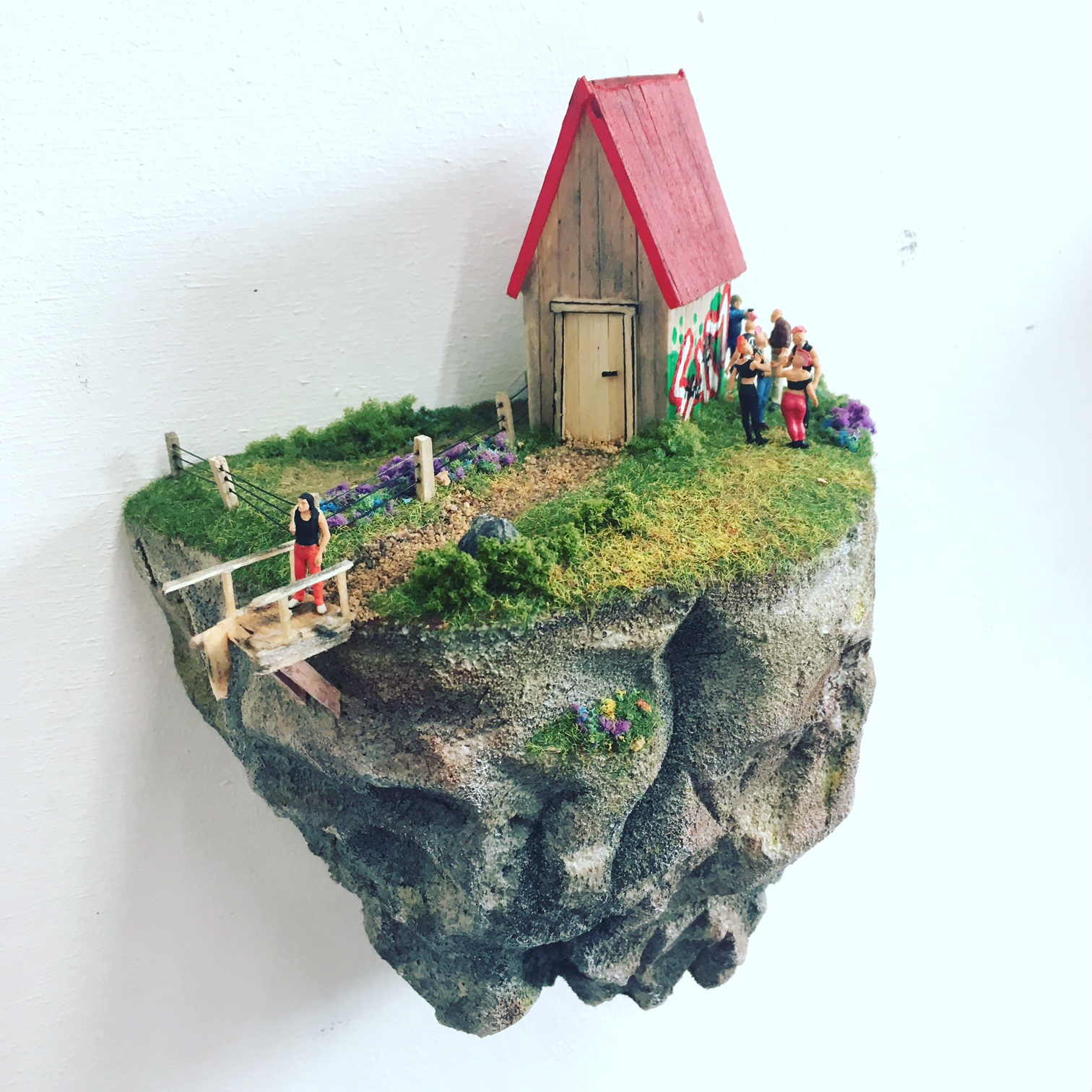 miniatuurwereld Sam Oswin Vonk