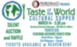 2020 - TASTE OF THE WORLD CULTURAL NIGHT
