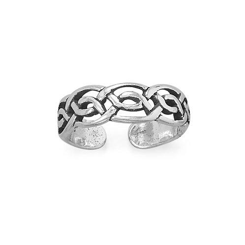 Celtic Design Toe Ring