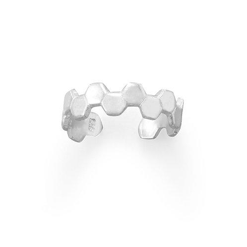 Honeycomb Toe Ring