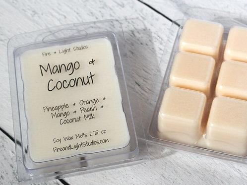 Mango & Coconut Soy Melts