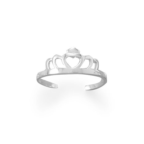 Princess Tiara Toe Ring