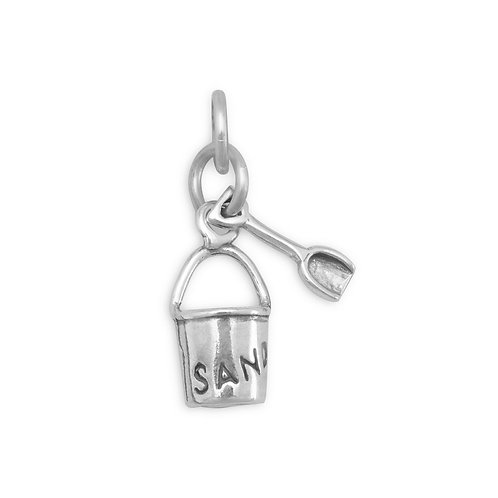 SAND Pail with Shovel Charm