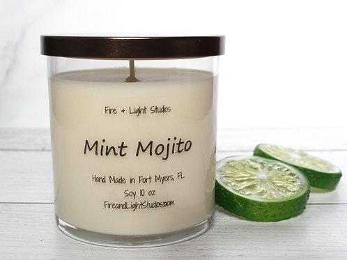 Mint Mojito Libbey Jar Candle