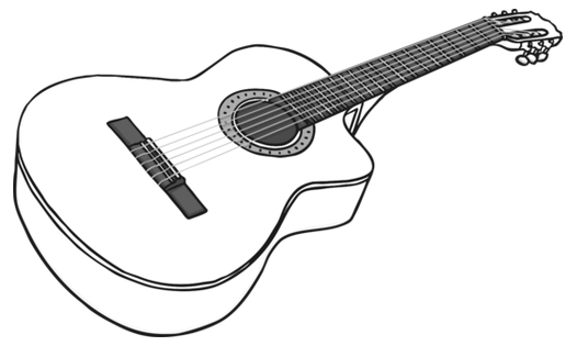 acoustic-guitar-black-and-white.png