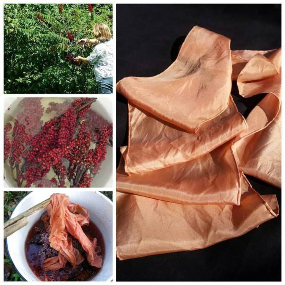 dyeing with sumac