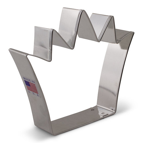 "King Crown Cookie Cutter 4 1/4""x3 3/4"""