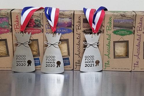 Assortment Artisan Flatbread Crackers - 6 Pack