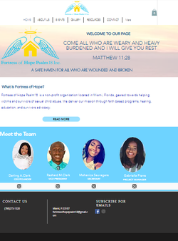 A website for an amazing charity with an