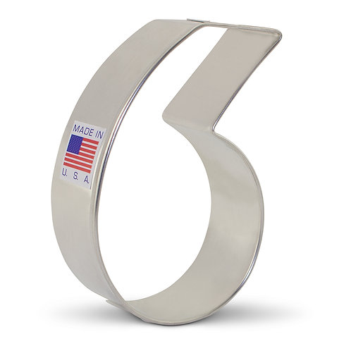 "Number 6 & 9 Cookie Cutter - 3 1/4"" x2 1/8"""