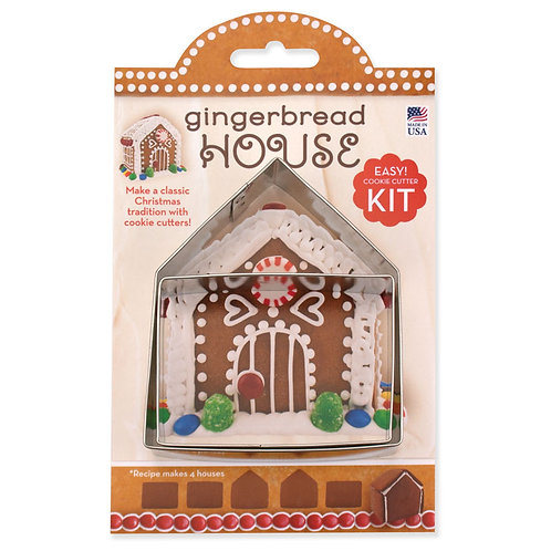 "Gingerbread house kit 4"""