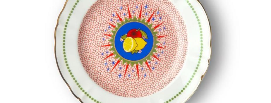 LEMON FRUIT PLATE