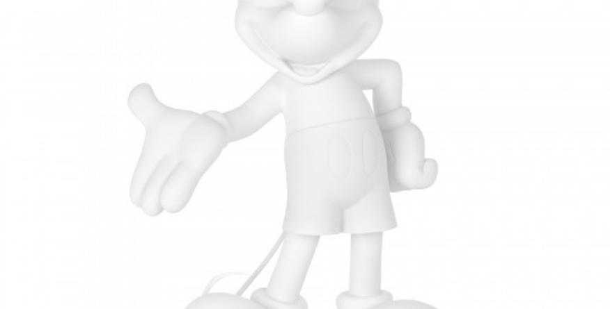 MICKEY WELCOME WHITE SOFT TOUCH