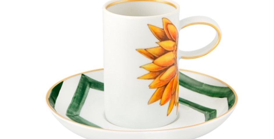 COFFEE CUP AND SAUCER AMAZONIA