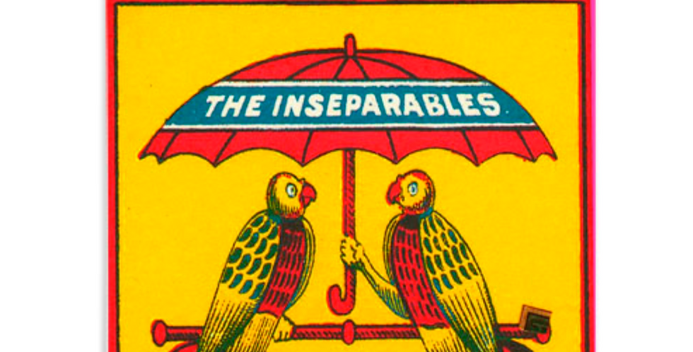 THE INSEPARABLES MATCHBOX