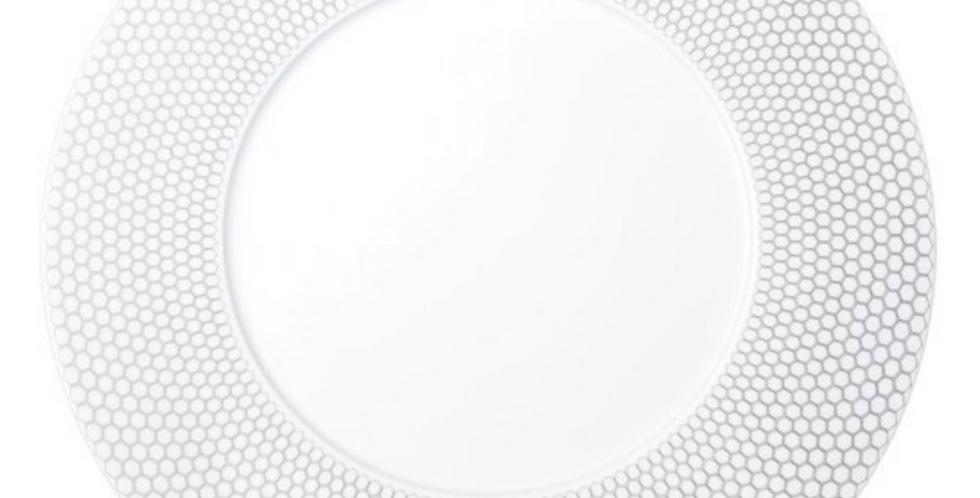 Round Porcelain Serving Platter
