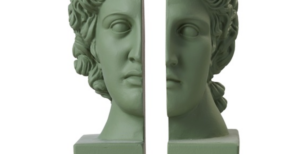 BOOKEND APOLLO S/2 FOREST GREEN
